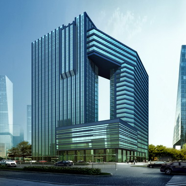 Mixed-use Business Hotel, Dongsheng District, Inner Mongolia